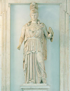 statua_di_minerva_ capitoline 2nd c BC marble  best private tours in Italy