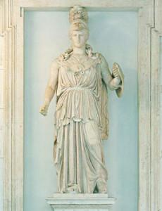 statua_di_minerva_ capitoline 2nd c BC marble  best private tours in Italy