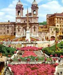 Spanish Steps in Bloom - Italy's Best Rome