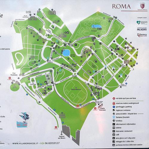 Cartina Di Villa Borghese Roma.Borghese Beautiful Day Out In Rome