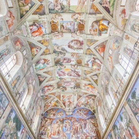 24112836 – ceiling of the sistine chapel, vatican