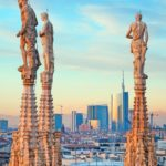 milan-financial-district-from-top-of-duomo-shutterstock_91953323