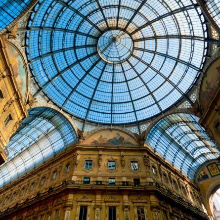 Milan – Galleria Vittorio Emanuele II – Glass Dome