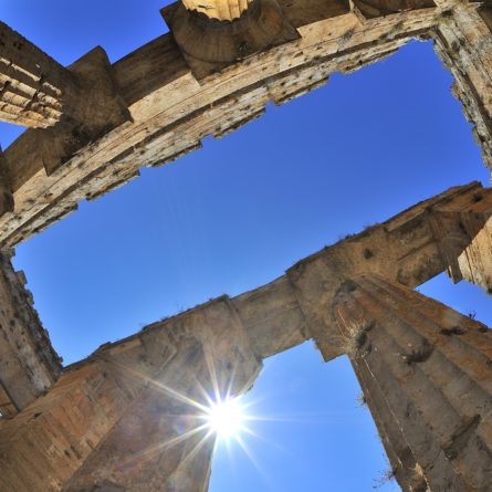 Paestum, Italia, Tempio di Nettuno