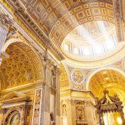 St Peter's inside Vip