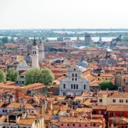 Aerial view on Venice