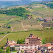 The castle of Barolo, Piedmont, Italy