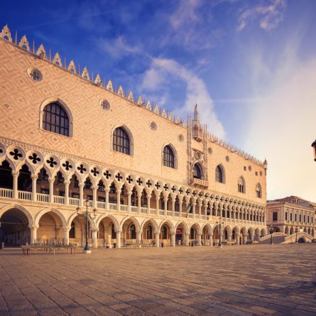 Doge's palace (Palazzo Ducale). Venice. Italy.