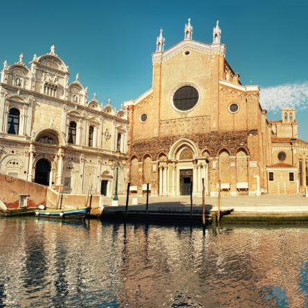 Santa Maria Gloriosa dei Frari at Venice, Italy