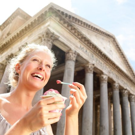 Tasting  gelato tour of Rome
