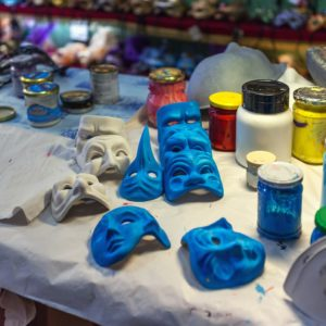 Venice Mask Makers & Rialto Market Tour