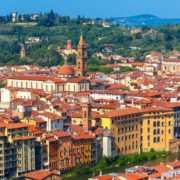 Oltrarno and Santo Spirito in Florence, Italy