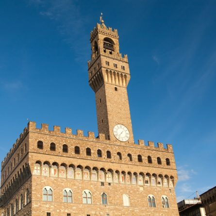 Palazzo Vecchio in Florence, Italy.