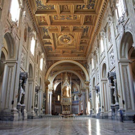 Rome –  basilica of Lateran basilica of st. John