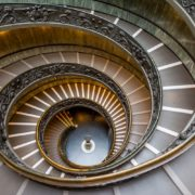 bramante stairs at vatican musem