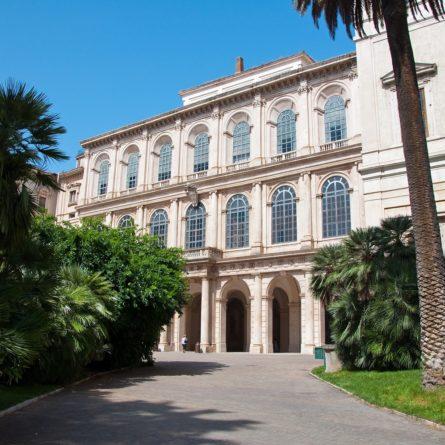 The Galleria Nazionale d'Arte Antica. Rome, Italy.