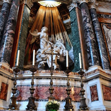 Bernini St Teresa in Ecstasy