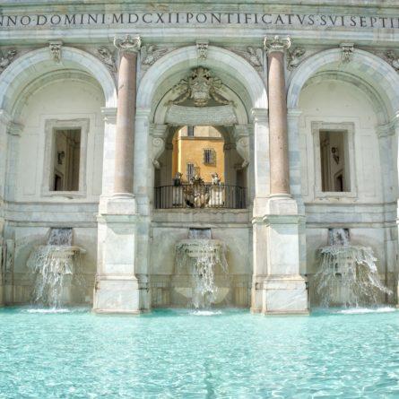 Acqua Paola Fountain, Gianicolo, Rome, Italy