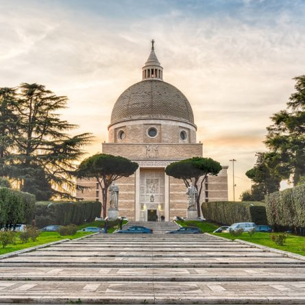 Church of Santi Pietro e Paolo in Rome, Italy