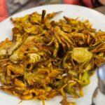 Deep fried artichoke