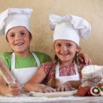Pizza making kids