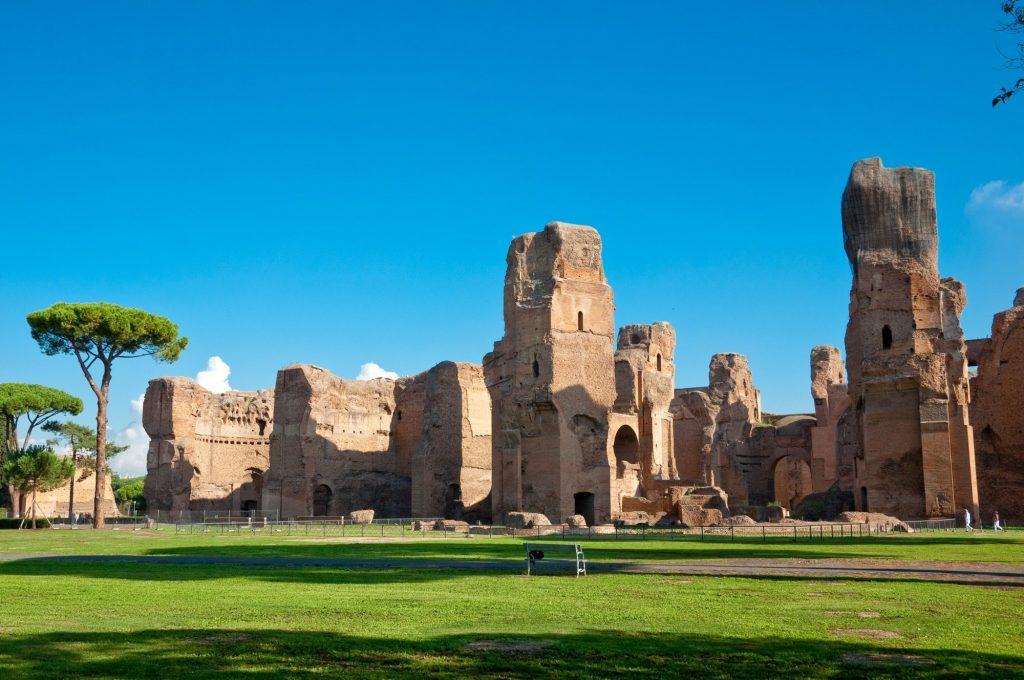 Rome - Caracalla Baths
