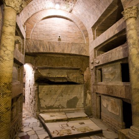 Rome_CatacombsSanCallisto