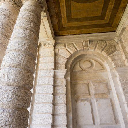 venezia, colonne ca rezzonico 1723