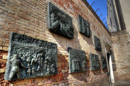 Jewish Memorial, Venice Ghetto, Italy.