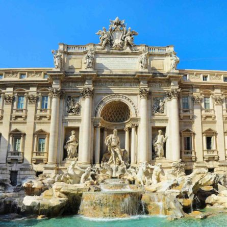 Roma – Trevi Fountain