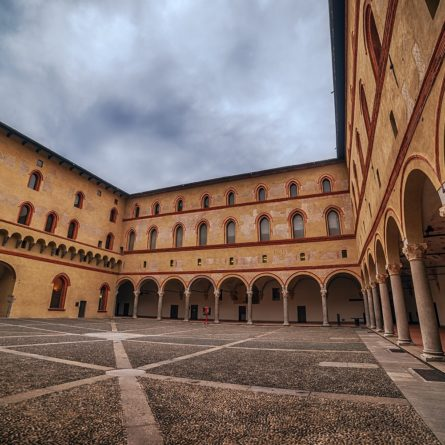 Milan, Italy: Sforza Castle, Castello Sforzesco