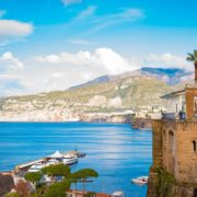 Sorrento is a village and comune on the Amalfi Coast, in Campania, Italy