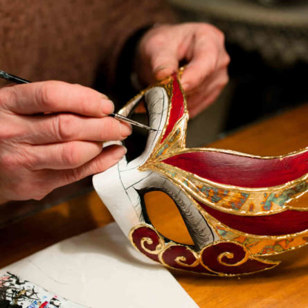 Venice – Mask making