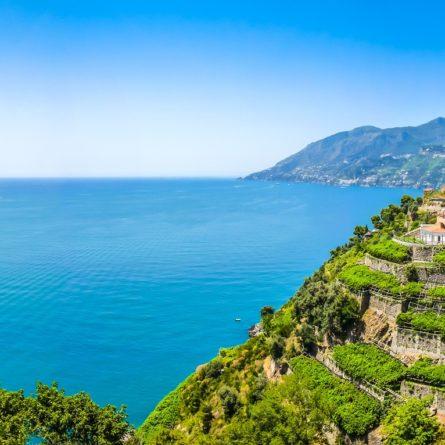 Amalfi Coast panorama, Campania, Italy