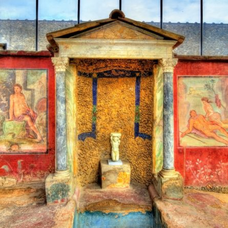 Paintings in the House of Loreius Tiburtinus – Pompeii